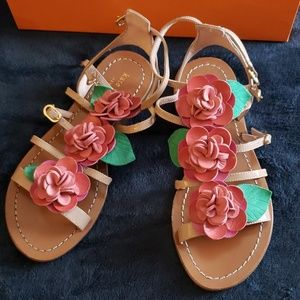 Brand new kate spade rose sandals
